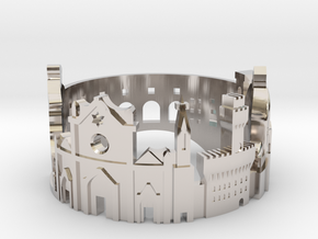 Florence Skyline - Cityscape Ring in Platinum: 5 / 49