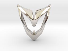 Astronaut, Pendant. Space Chic in Platinum