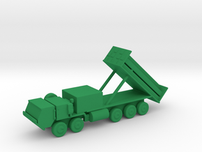 1/200 Scale M1120 HEMTT THAAD, launcher Errect in Green Strong & Flexible Polished
