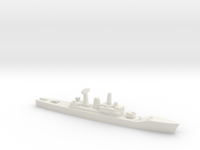 Leander-class frigate, 1/2400 in White Natural Versatile Plastic