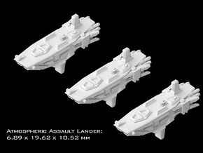 (Armada) 3x Atmospheric Assault Lander in Smooth Fine Detail Plastic