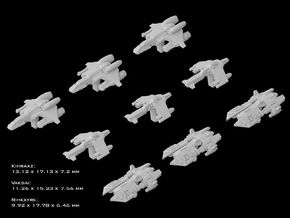 (Armada) Black Sun Fighters Set in Frosted Ultra Detail