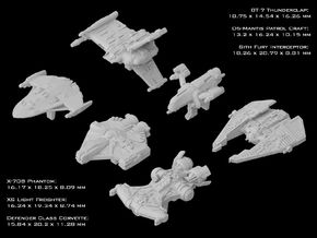 (Armada) Old Republic Transport Set I in Frosted Ultra Detail