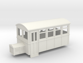 55n9 4 wheeled railbus version 2 in White Strong & Flexible