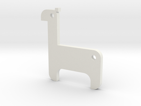 LAMA in White Natural Versatile Plastic