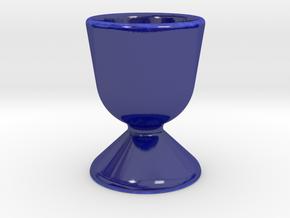Egg Holder in Gloss Cobalt Blue Porcelain