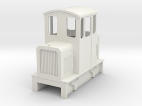 09 Centercab diesel loco 3a  in White Strong & Flexible