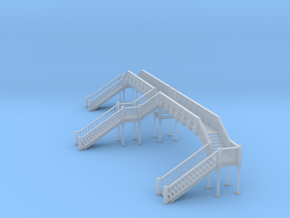 Footbridge Type 4 in Smooth Fine Detail Plastic