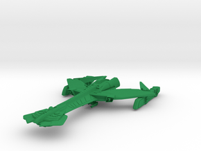 K 22 Windxin Class  BattleDestroyer in Green Strong & Flexible Polished