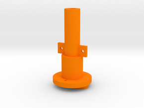 MK I to Warthog/Cougar Tailpiece in Orange Processed Versatile Plastic