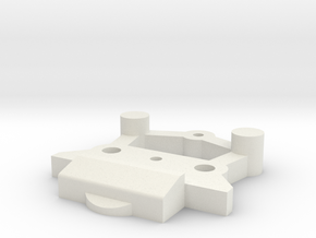 Lionel O Scale RS-11 Coupler Mount (EXPERIMENTAL) in White Strong & Flexible