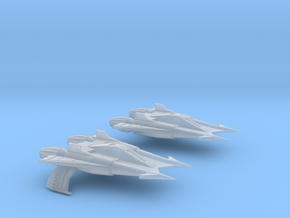 Thunder Fighter Advanced 20mm in Smooth Fine Detail Plastic