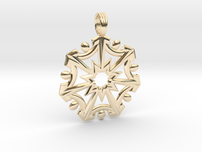SEVEN SISTERS OF LIGHT in 14K Yellow Gold