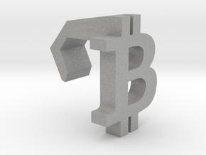 iMac Camera Cover - Bitcoin Logo in Aluminum