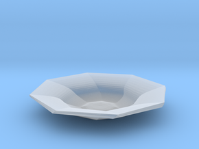 Sharp edges plate in Smooth Fine Detail Plastic