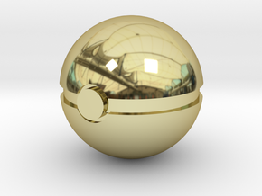 Pokeball in 18k Gold
