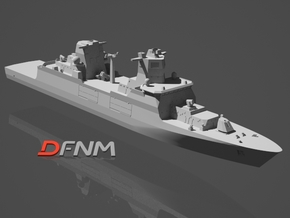 F125 Baden-Württemberg Class in White Strong & Flexible: 1:700