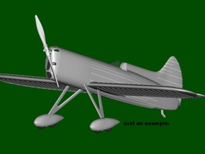 "DGA-5 ""IKE"" #39, Tandem landing gear, scale 1/144  in Frosted Ultra Detail"