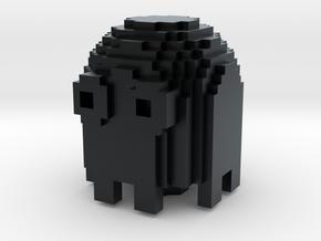 8-Bit Ghost Keycap in Black Hi-Def Acrylate