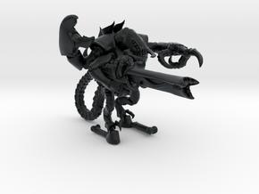 Moloch 001 Ätzkristalkanone 15mm in Black Hi-Def Acrylate