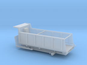 1/87th Large 20' Dump Truck Body, 25/27 Yard in Smooth Fine Detail Plastic