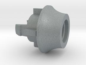 Adapter in Polished Metallic Plastic