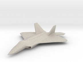 1/285 F-22 Raptor in Natural Sandstone