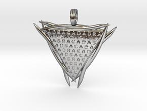 ABRACADABRA in Premium Silver