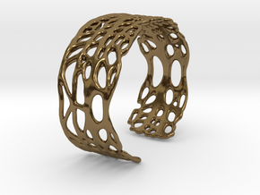 seafan cuff in Polished Bronze