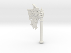 Daemonic Axe 01 in White Strong & Flexible