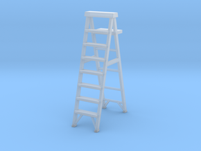 Stepladder 02. 1:22 Scale in Smooth Fine Detail Plastic