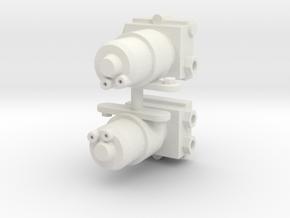 Electric Fuel Pump Pair 1/8 in White Natural Versatile Plastic