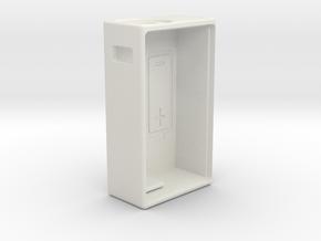 TalyMod Bottom Feeder Mechanical mod. in White Natural Versatile Plastic