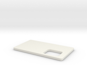 Cover for TalyMod  in White Natural Versatile Plastic