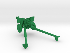 1/144 Scale M101 105mm Howitzer in Green Strong & Flexible Polished