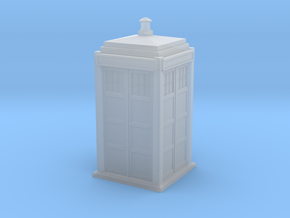 TARDIS-1/87 Scale in Frosted Ultra Detail
