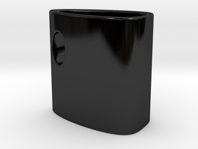 InsideCup in Gloss Black Porcelain