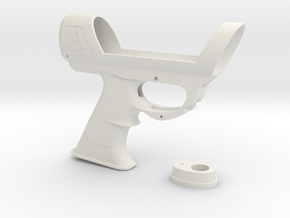 ESB Sidearm Main Body in White Natural Versatile Plastic