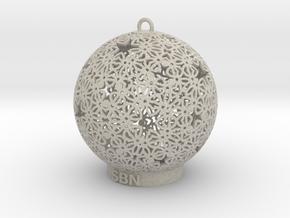 SBN Deco Ornament in Natural Sandstone