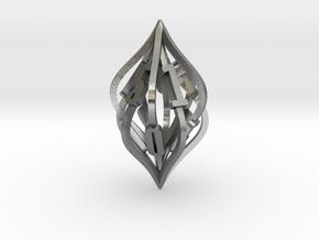 'Kaladesh' LARGE D10 Spindown Life Counter in Natural Silver