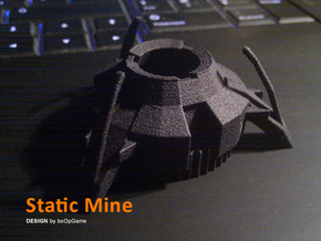 boOpGame Shop - Half-Life Static Mine in Black Natural Versatile Plastic
