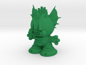 ( Series 1 LOMO -7 ) Dragon Dan in Green Processed Versatile Plastic: Medium