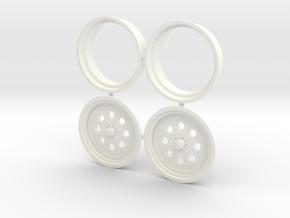 Weld Draglite Front 1/12 in White Processed Versatile Plastic