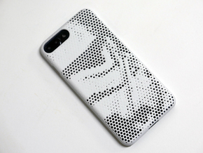 iPhone 7 Plus Case_Storm Trooper in White Strong & Flexible Polished