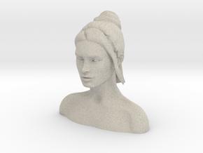 Megan Fox Headsculpt  in Natural Sandstone
