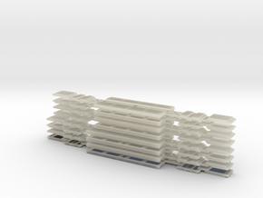 N05C - Waratah Trailer Glazing - Part C in Transparent Acrylic