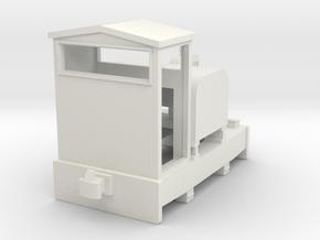 009 simplex style loco  in White Natural Versatile Plastic
