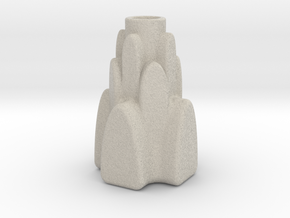 Candle Stick Model Z2 H in Natural Sandstone