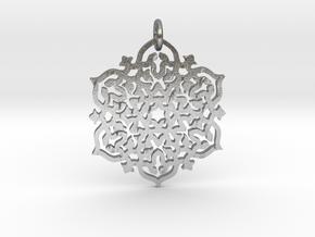 Mandala30 in Natural Silver (Interlocking Parts)