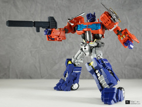 Transformers CHUG Optimus Prime Blaster in Black Natural Versatile Plastic